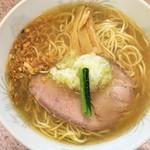 ラー麺専門店 こしがや - 料理写真:塩味ネギラーメン