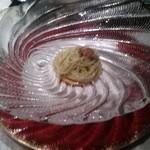 91322387 - 三重県 馬糞雲丹の冷製パスタ フェデリーニ ガスパチョのソース