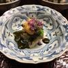 夕月 - 料理写真:蒸し鮑と生雲丹