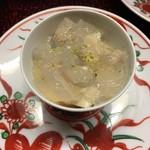 夕月 - 蛤の冷し茶碗蒸し