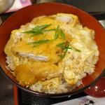 うどん居酒屋 麦笑 - カツ丼
