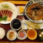 なにわ - 料理写真:鰹のびんた定食
