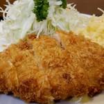 グリルふじ - チーズチキンカツ