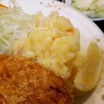 グリルふじ - ポテトサラダ