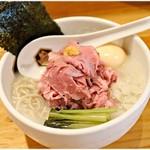 真鯛らーめん 麺魚 - 特製真鯛らーめん(冷やし) 1050円 冷え冷え♪そしてウッマウマ♪