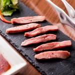 レトロ肉バル 炙りやん - 希少上ラムタン¥880