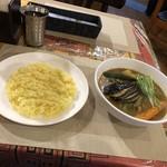ナマステネパール - ご飯とカレー