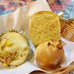 パスタミマツ - ランチのパン