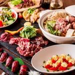 レトロ肉バル 炙りやん - 贅沢コース