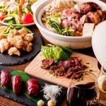 レトロ肉バル 炙りやん - 鍋コース