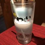 錦わらい - ガリガリ君ソーダ