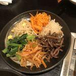 焼肉もとやま - 6種野菜のナムル