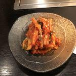 焼肉もとやま - 白菜キムチ