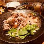 おじんじょ - 神明鶏の肉汁焼き・定番もも肉(1,480円)