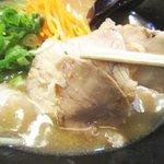 らーめん古潭 - 醤油ラーメン 580円