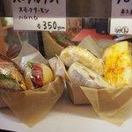 ベイカーズサイン - 3種類のミニサンドセット500円♪
