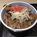 吉野家 - △牛カルビ丼580円