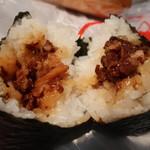 おにぎりの桃太郎 - 牛肉しぐれ