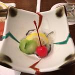 蔦温泉旅館 - 氷頭と林檎なます