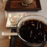 楊貴妃cafe Chinois - (2018年05月)オリジナルブレンド珈琲(ICE)、楊貴妃カフェオレ(ICE)