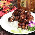 中国料理 青樺 - 黒酢酢豚