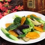 中国料理 青樺 - 夏野菜炒め