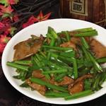中国料理 青樺 - レバニラ