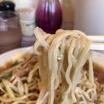 春木屋 - 冷やし中華そばの中太ちぢれ麺
