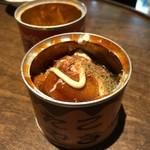 91336584 - たこ焼きの缶詰 とろりとした不思議な食感ながら、味はきちんとたこ焼き♪うまいっ!! 2018/08/18
