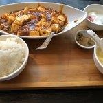 佳佳苑 - 麻婆豆腐定食