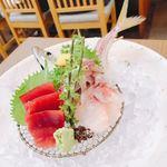 謙徳蕎麦 - お魚がピクピク動くゥ∑(゚Д゚)