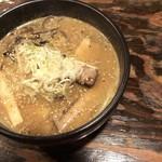 吉山商店 - 2018年7月31日       焙煎ごまみそラーメン