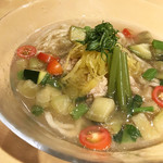 91339903 - 南魚沼野菜の冷やしそば(税込1,200円)