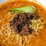 剣閣 - コチラも人気の坦々麺。 程よい酸味と辛味が人気です。