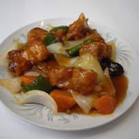 磯野家 - 酢豚定食