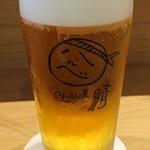 うまいもん屋 晴 - 生ビール中