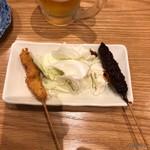 串カツ・どて煮 然 - 串カツ