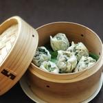 ど根性キッチン - 小松菜しゅうまい