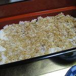 うなぎ割烹 きょう豊 - 鰻重のご飯