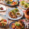 新宿 ランブータン - 料理写真:ランブータンの人気メニューコース