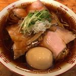 chuukasobashibata - 中華そば+味玉\930