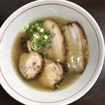 中華そば まる乃 - 塩肉増し900円
