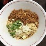 中華そば まる乃 - 和え麺850円