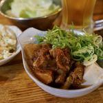 愉々家 - 牛すじどて豆腐 580円