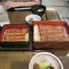 日本橋 伊勢定 - 料理写真:左:うな重 松 右:うな重 桜