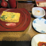 日本橋 伊勢定 - 三つ葉の卵焼き 800円+Tax