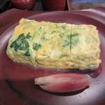 日本橋 伊勢定 - 三つ葉の卵焼き