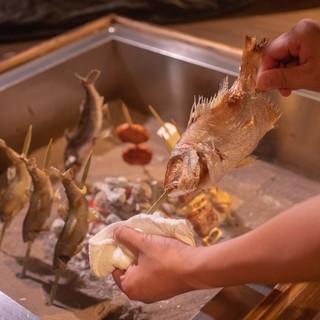 五感で楽しむ【囲炉裏焼き】横浜関内の隠れ家