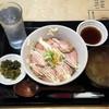 地下酒場 - 料理写真:日替わり定食(ローストポーク丼)680円