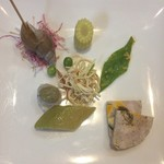 彩雲瑞 - [冷翠香満] 本日の前菜
